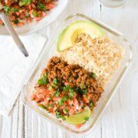 Fiesta Turkey with Brown Rice