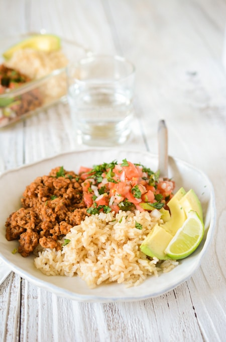 Fiesta Turkey with Brown Rice