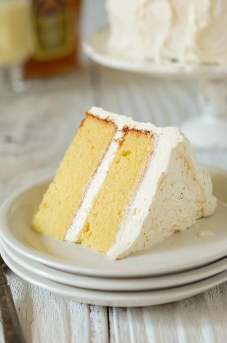 Eggnog Layer Cake