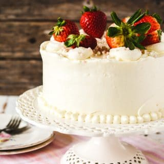 Strawberry Cake From Scratch