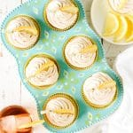 Sweet Tea Lemon Cupcakes