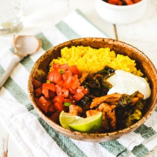 Mexican Chicken and Rice Bowls