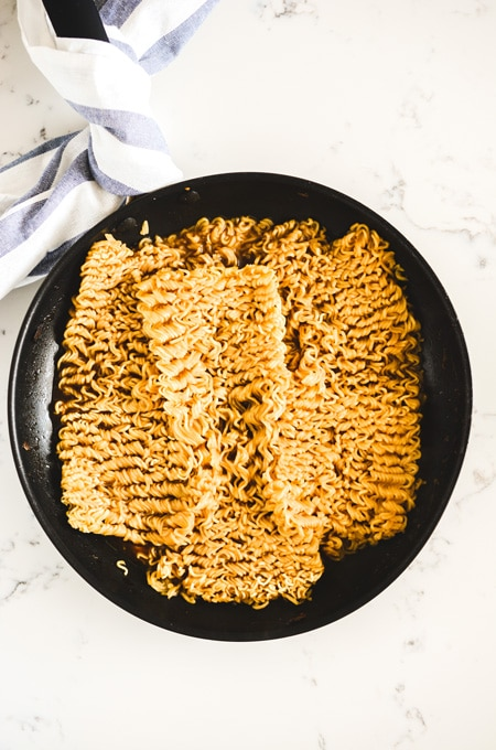Easy Mushroom Ramen Noodles