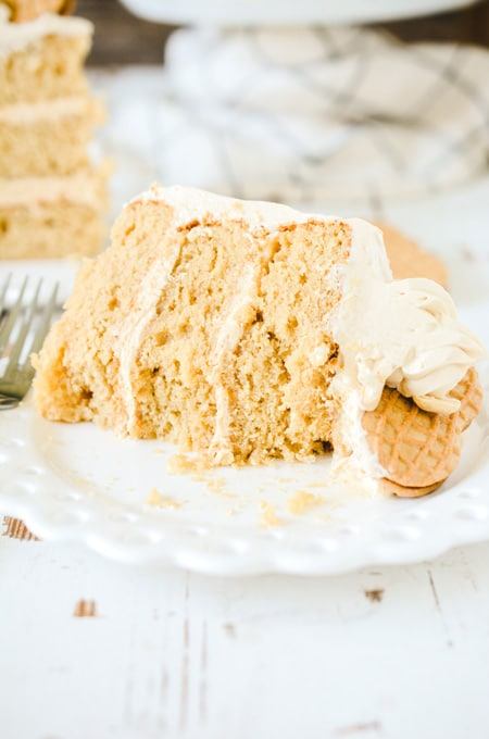Nutter Butter Layer Cake