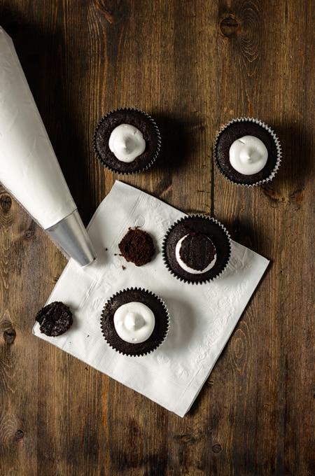 Hot Cocoa Cupcakes