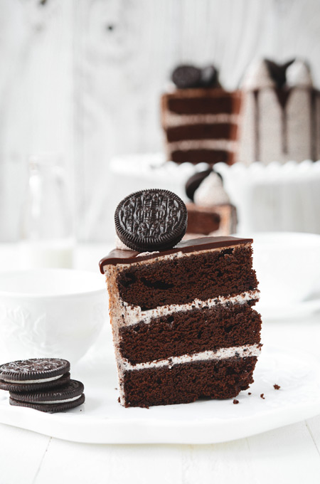 Ultimate Cookies and Cream Layer Cake