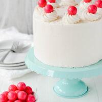 Bubble Gum Layer Cake